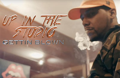Juelz Santana - Up In The Studio Gettin Blown Freestyle