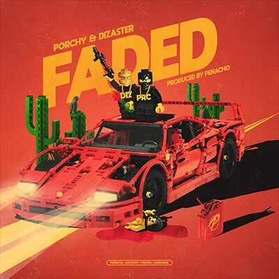 Porchy, Dizaster - Faded